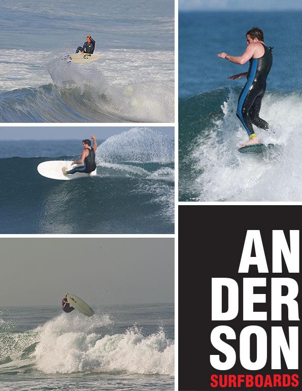 Anderson surfboards
